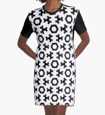 EOUQRCDE Graphic T-Shirt Dress