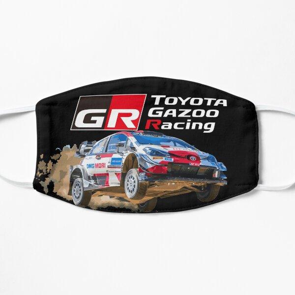WRC TOYOTA GR YARIS - gazoo racing Sébastien Ogier Elfyn Evans Jump Masque sans plis
