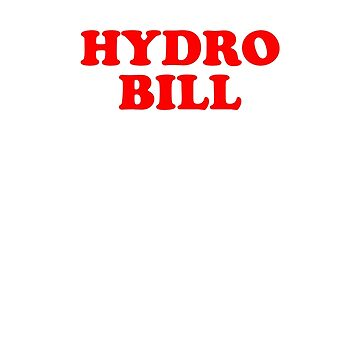 I paid my hydro bill by gorillamask