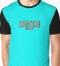 Keyboard Arcade Game Graphic T-Shirt