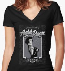 The Rocky Horror Picture Show - Absolute Pleasure Women's Fitted V-Neck T-Shirt