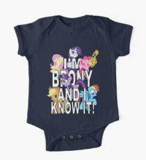I'M BRONY AND I KNOW IT! One Piece - Short Sleeve