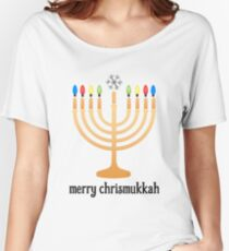 Merry Chrismukkah Women's Relaxed Fit T-Shirt