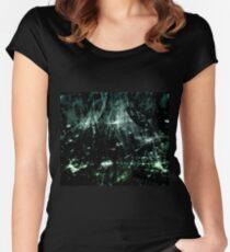 Stellar (jade) Women's Fitted Scoop T-Shirt