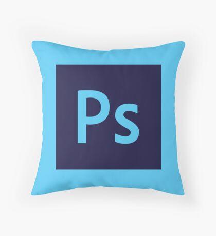 Adobe Photoshop Icon Throw Pillow