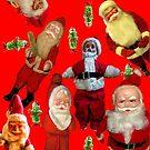 Ugly Christmas Awesomeness Santa Pickle  by hilda74