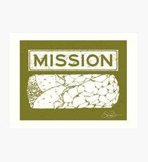 Mission Burrito Art Print