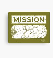 Mission Burrito Canvas Print