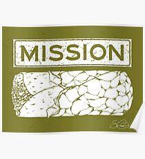 Mission Burrito Poster