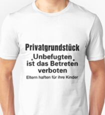 private ground Unisex T-Shirt