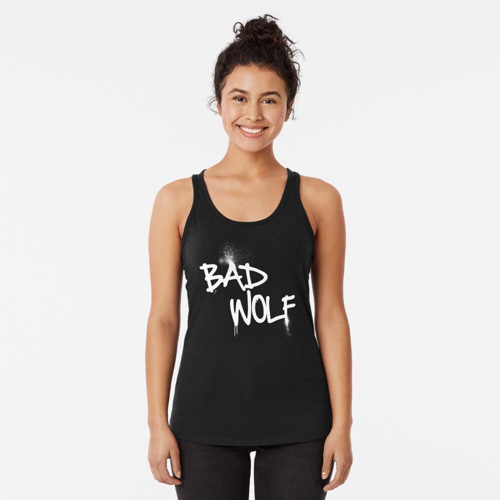 Bad Wolf Racerback Tank Top