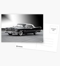 1957 Chrysler Crown Imperial Convertible Postcards