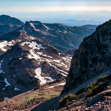 Mountains of Lassen National Park by DanielRegner