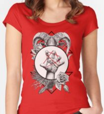 fbd67ea98 CASTING - B/W Women's Fitted Scoop T-Shirt