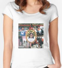 Tommy Wright III Women's Fitted Scoop T-Shirt