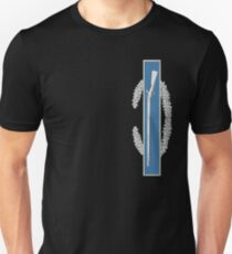 Combat Infantry Badge vertical Unisex T-Shirt