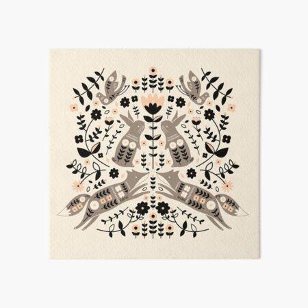 Woodland Folklore  Art Board Print