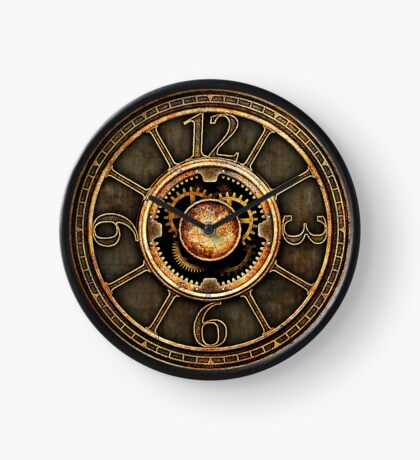 Vintage Steampunk Clock No.2 Clock