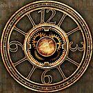 Vintage Steampunk Clock No.2 by Steve Crompton