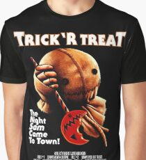 Trick 'r Treat Halloween Mashup T-Shirt Graphic T-Shirt
