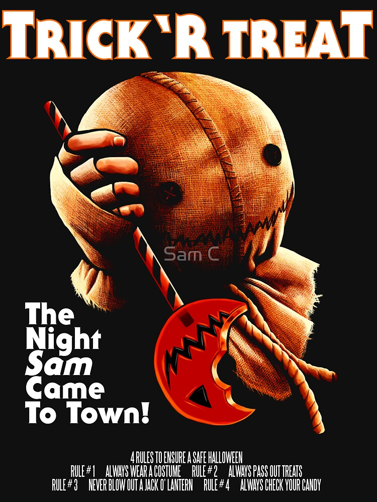 Trick 'r Treat Halloween Mashup T-Shirt | Unisex T-Shirt