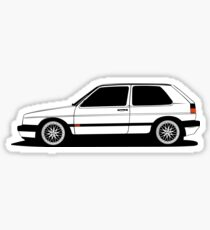 VW Golf MK2 Sticker