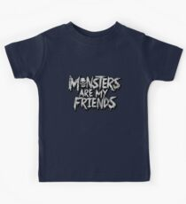 Monsters are my friends Kids Clothes