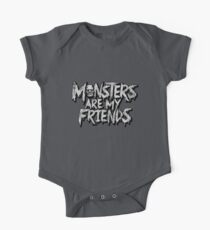 Monsters are my friends One Piece - Short Sleeve