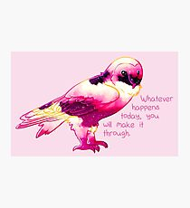 """""""You Will Make It Through"""" Night Sky Owl Photographic Print"""