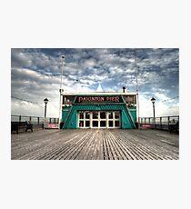 The Pier at Paignton Photographic Print