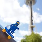 Space Needle, SPACE NEEDLE! by thereeljames