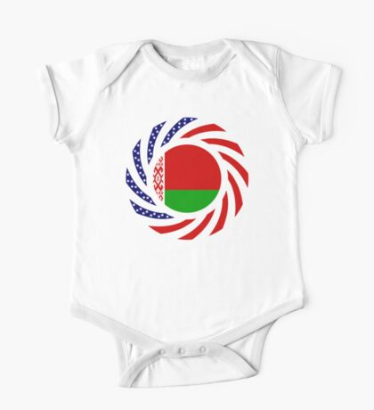Belarusian American Multinational Patriot Flag Series Kids Clothes
