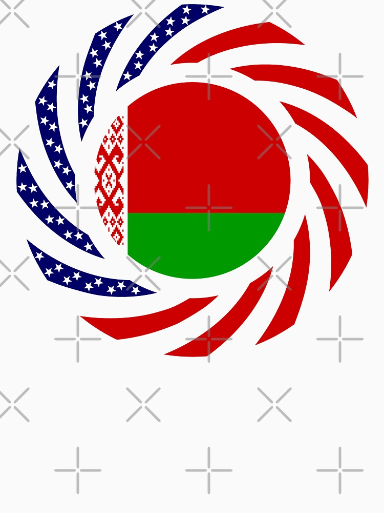 Belarusian American Multinational Patriot Flag Series by carbonfibreme