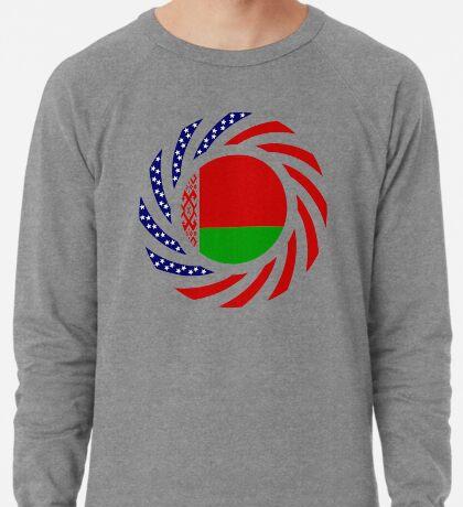 Belarusian American Multinational Patriot Flag Series Lightweight Sweatshirt