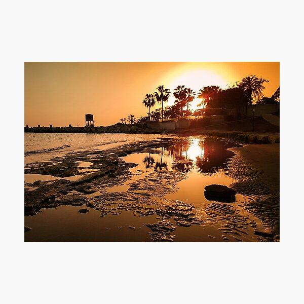 Summer Bliss - Limassol Cyprus Photographic Print