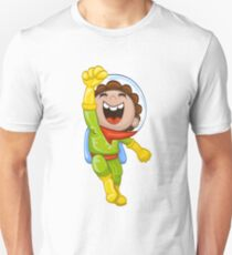 Cartoon astronaut Unisex T-Shirt