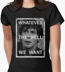 Bellamy - The 100 - Whatever the hell we want Women's Fitted T-Shirt