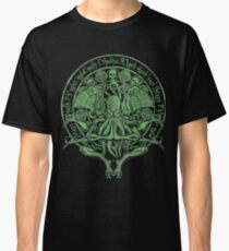 The Idol Sick Green Variant Cthulhu God Art Classic T-Shirt
