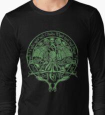 The Idol Sick Green Variant Cthulhu God Art Long Sleeve T-Shirt