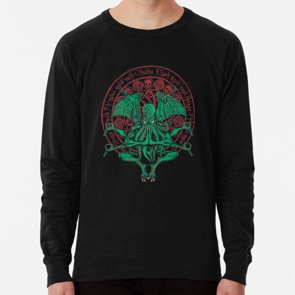 The Idol Cthulhu God Art Lightweight Sweatshirt