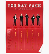The Rat Pack Filmography Poster