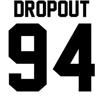 Dropout '94 - Jersey Tee by jezzhands