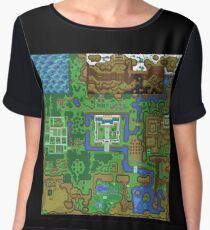 The Legend of Zelda: A Link to the Past Map Chiffon Top