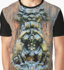 Ornate doorhandle in Mdina, Malta Graphic T-Shirt