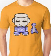 Popo Yo O'babybot (and Rawr) Slim Fit T-Shirt