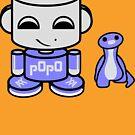 Popo Yo O'babybot (and Rawr) by Carbon-Fibre Media