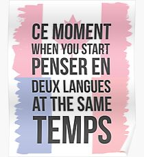 Ce Moment (Canuck Version) Poster