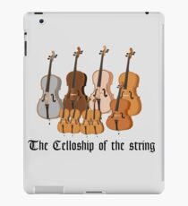 The Celloship of the String iPad Case/Skin