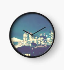 San Francisco Twinkle Bay Bridge Bokeh Clock