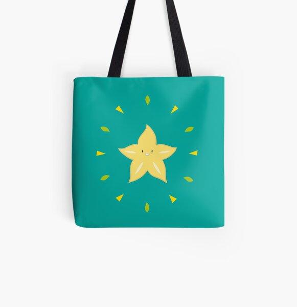 Shiny Carambola Tote bag doublé